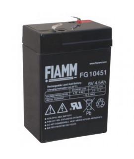 Fiamm FG 6V 4.5Ah Bateria acidificada ao chumbo