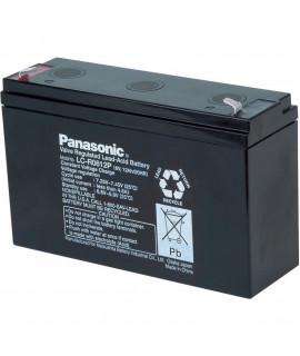 Panasonic 6V 12Ah Bateria acidificada ao chumbo