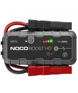 Noco Genius Boost HD GB70 jumpstarter 12V - 2000A