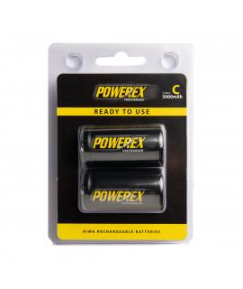 2 C Maha Powerex Pré-carregado - blister - 5000mAh