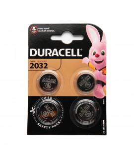4x Duracell CR2032 - 3V