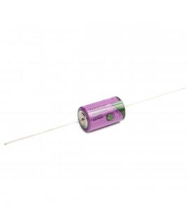Tadiran SL-350 / P 1 / 2AA Lítio com fios de solda - 3,6 V