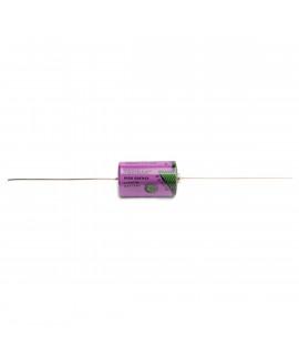 Pilha de Lítio Tadiran SL750 / 1 / 2AA com fios de solda - 3.6V
