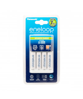 Panasonic Eneloop BQ-CC17 carregador de bateria + 4 AA Eneloop (1900mAh)