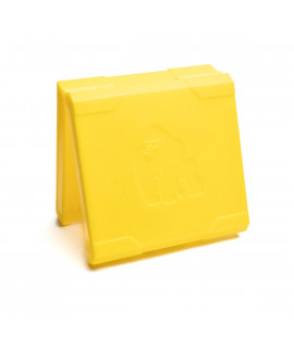 Caixa de bateria 4x18650 Gorilla Gorilla - amarelo