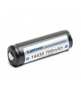 Keeppower 14430 700mAh (protegido) - 4A