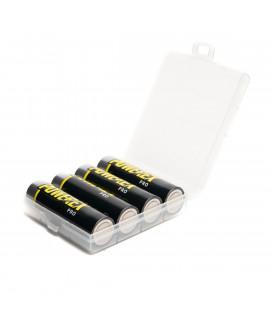 4 AA Maha Powerex Pro pré-carregado - caixa - 2700mAh