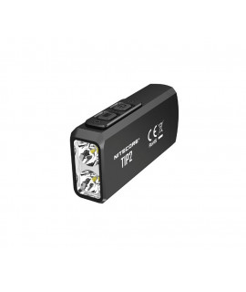 Lanterna/chaveiro recarregável Nitecore Tip2 - Lâmpada de de 720 Lúmens USB