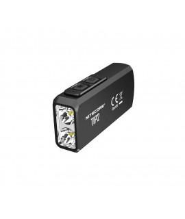 Nitecore Tip2 - lanterna elétrica recarregável de Keychain de 720 Lumen USB