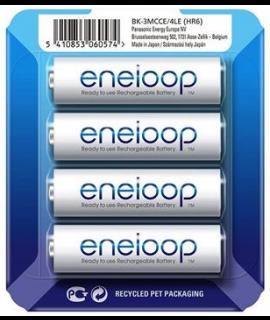 4 Eneloop AA - blister deslizante - 1900mAh