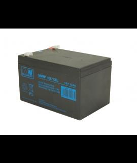 MWPower Deep Cycle 12V 12Ah Bateria de chumbo-ácido (6.3mm)