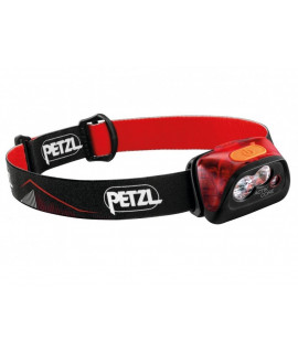 Lâmpada Petzl Actik Core Red Head - 450 Lumen