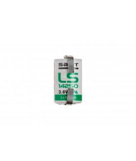 Lítio SAFT LS14250 / 1 / 2AA com U-tags - 3.6V
