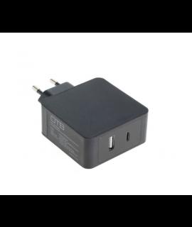 OTB Carregador rápido USB (USB-C + USB-A) - 3A / 30W