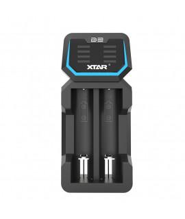 XTAR D2 carregador de bateria