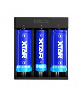 Carregador de bateria XTAR MC3