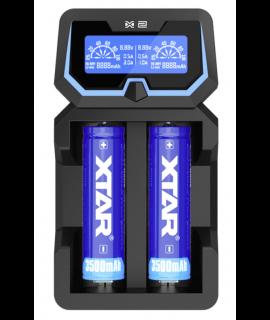 Carregador de bateria XTAR X2