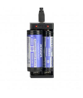 Carregador de Bateria USB XTAR MC2