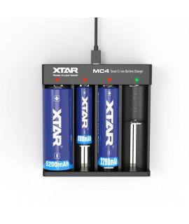 Carregador de bateria XTAR MC4