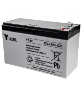 Yuasa Yucel 12V 7Ah Bateria de chumbo