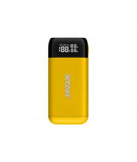 XTAR PB2S powerbank / carregador de bateria - Amarelo