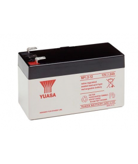 Yuasa 12V 1.2Ah Bateria chumbo-ácido