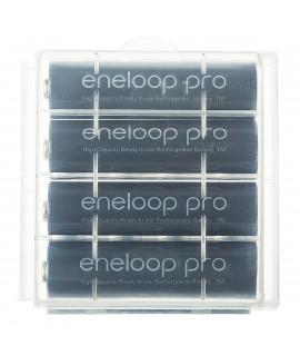 4 AA Eneloop Pro - caixa - 2500mAh
