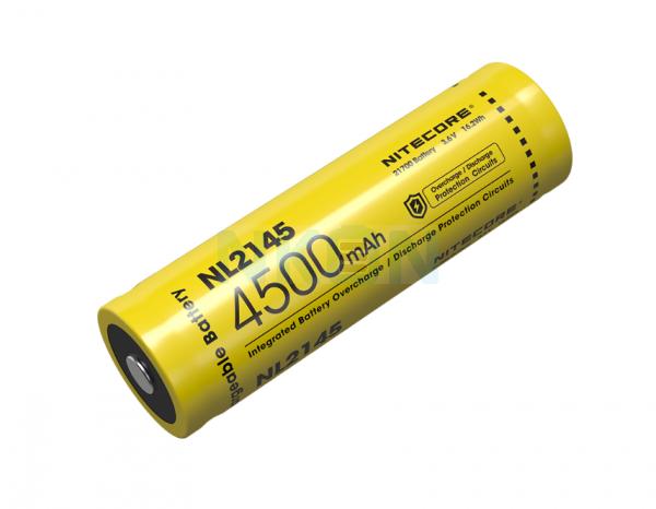 Nitecore 21700 NL2145 4500mAh - 5A