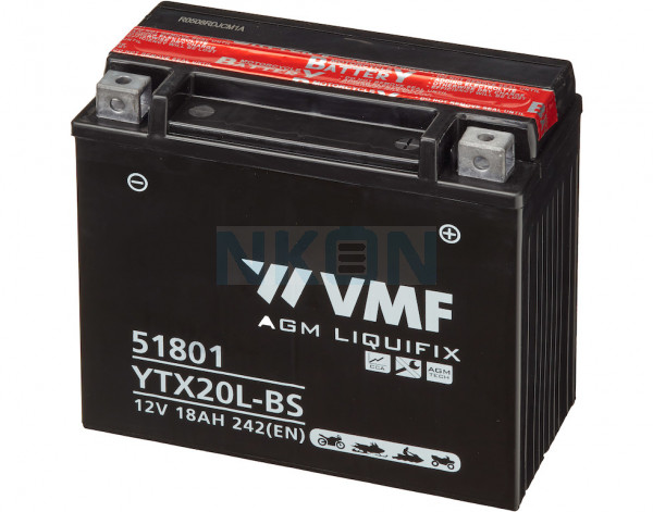 VMF Powersport MF 12V 18Ah batterie au plomb