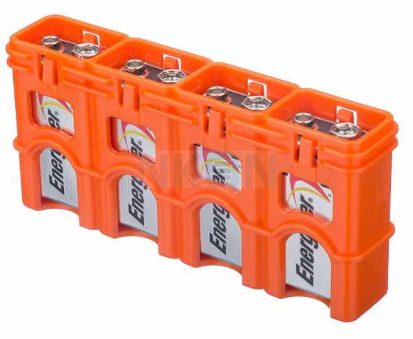 4 9V Powerpax Compartiment des piles