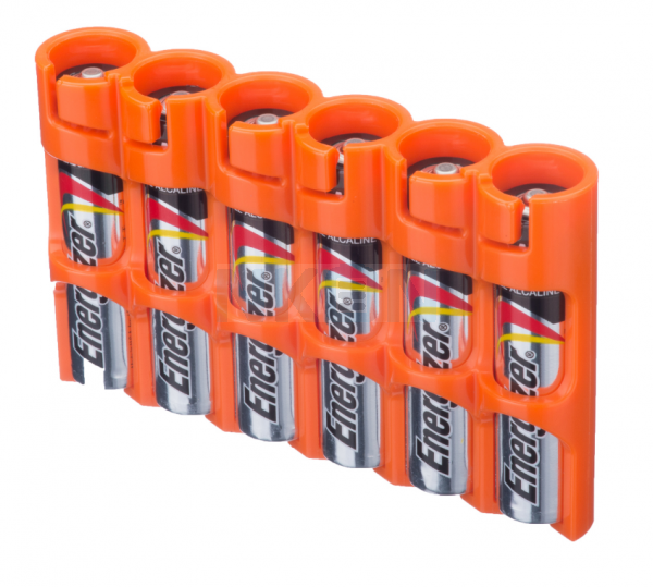 6 AAA Powerpax Compartiment des piles