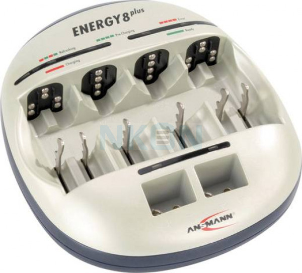 Ansmann energy 8 plus chargeur de batterie