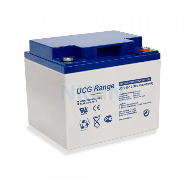 Ultracell Deep Cycle Gel 12V 45Ah Batterie au plomb