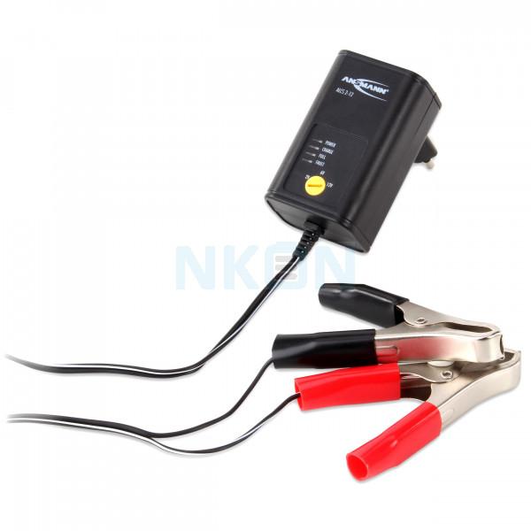 Ansmann Chargeur de batterie au plomb ALCS 2-12 / 0.4