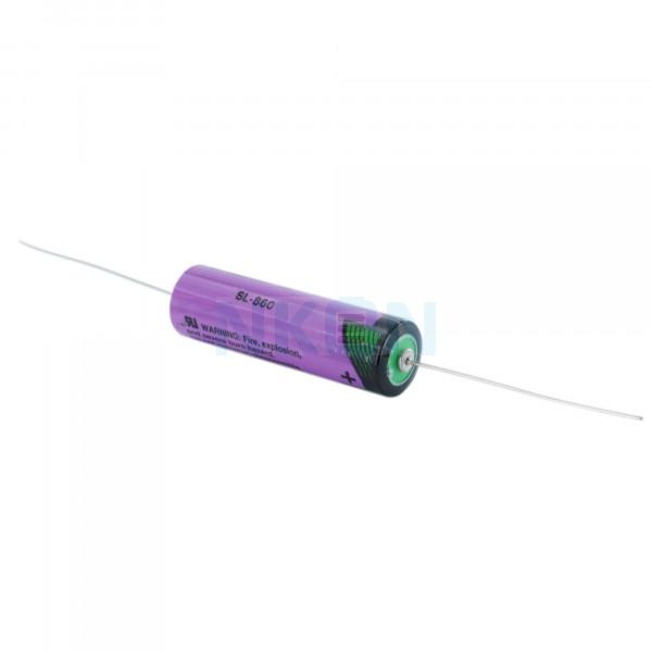 Tadiran SL-860 / AA avec fils à souder (CNA) - 3.6V