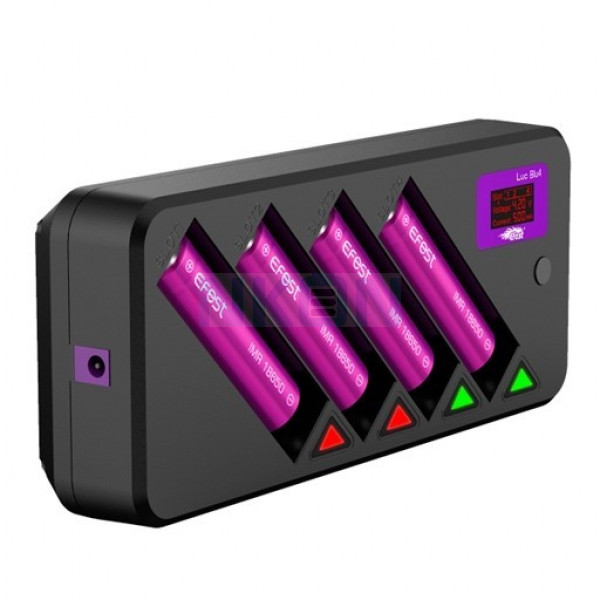 Chargeur de batterie Efest LUC Blu4