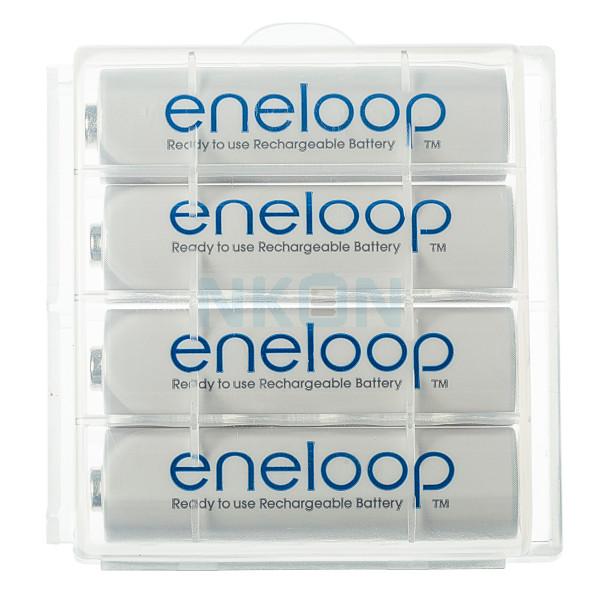 4 AA Eneloop - boîte - 1900mAh