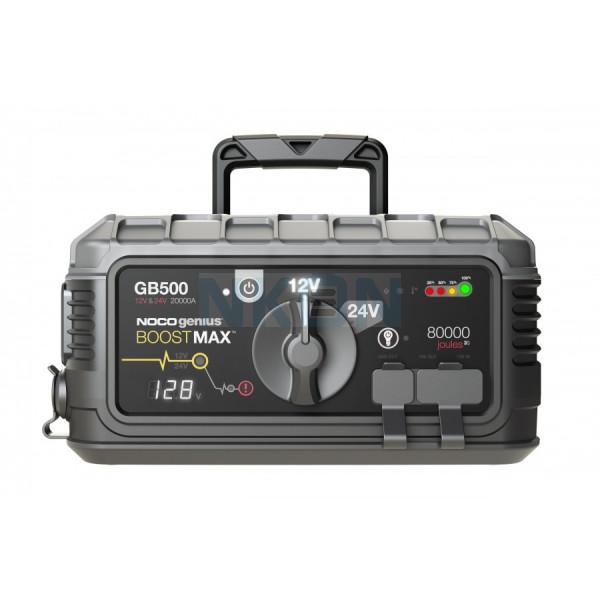 Démarreur Noco Genius Boost Max GB500 12V / 24V - 20000A
