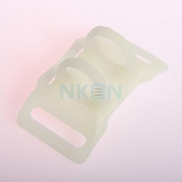 H52 / H53 / H502 / H503 brille dans le support en silicone noir