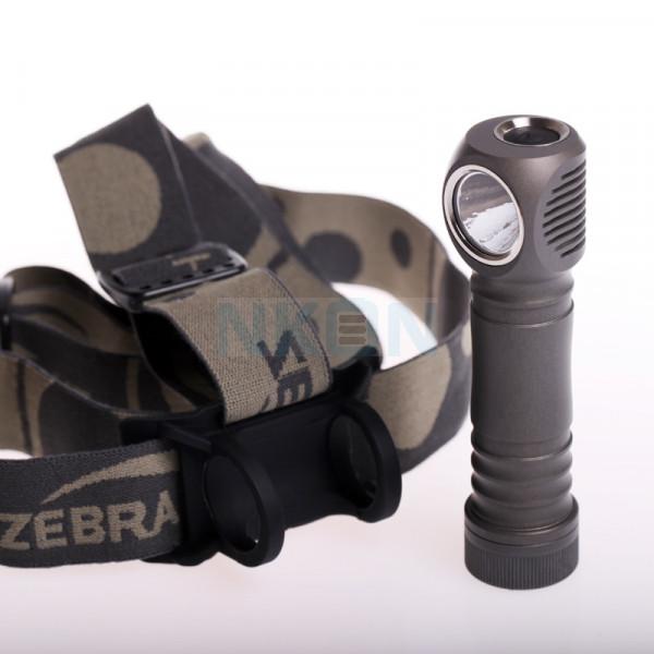 Zebralight H600d Mark IV XHP50.2 5000K High CRI Lampe frontale