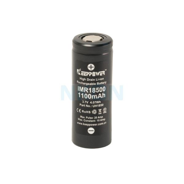 Keeppower IMR 18500 1100mAh - 10A