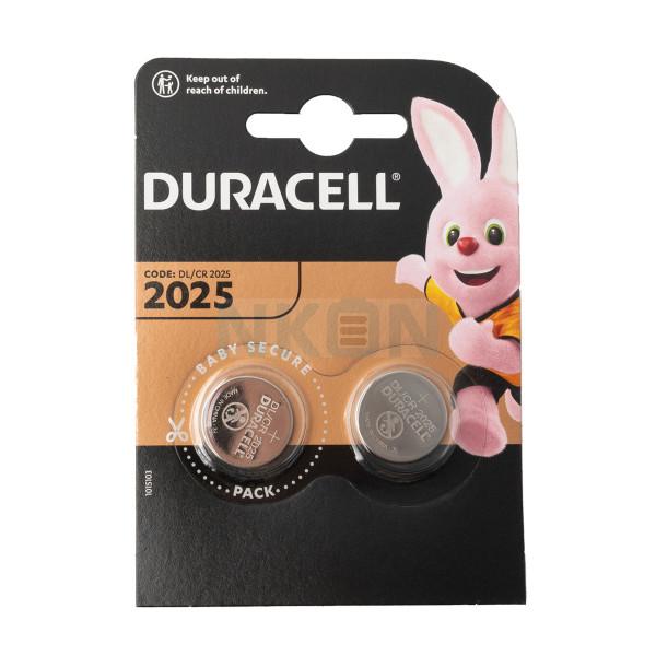 2x Duracell CR2025 - 3V