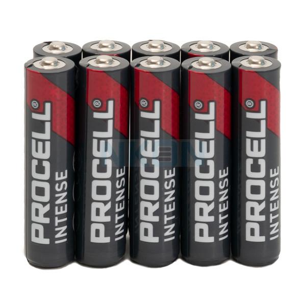 10x AAA Duracell Procell Intense -  1.5A