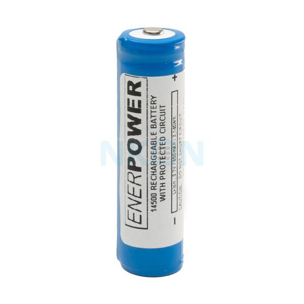 Enerpower 14500 850mAh - 2,4A (protégé)