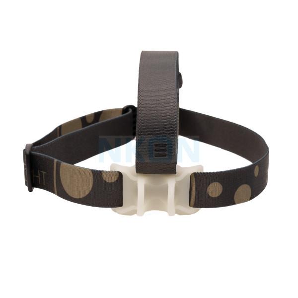 H51 / H52 / H53 / H502 / H503 Bandeau avec support + bande supérieure en silicone noir