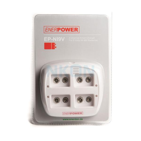 Enerpower EP-NI9V chargeur de batterie