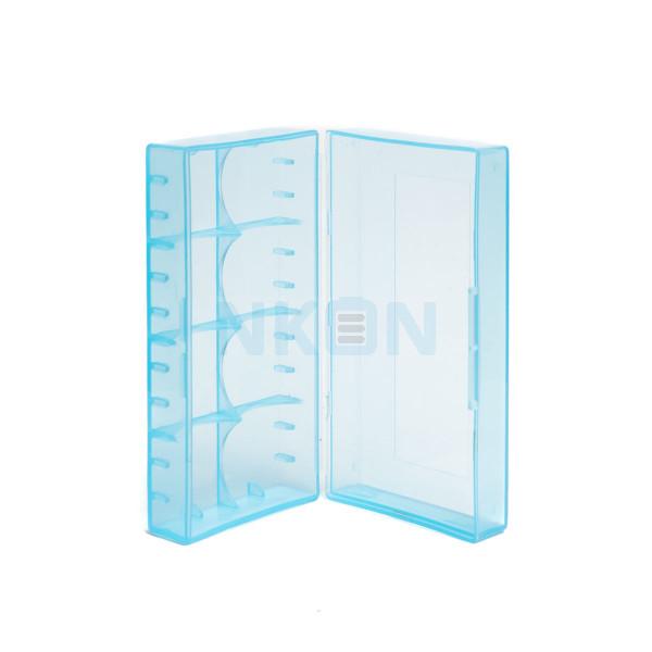 2x 18650 ou 4x 18350 batterie box BLEU