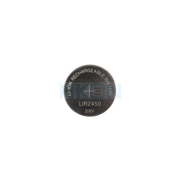 LIR2450 rechargeable li-ion Pile bouton - 120mAh