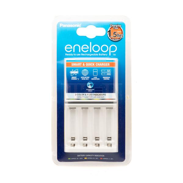 Chargeur Panasonic Eneloop BQ-CC55 (sans piles)
