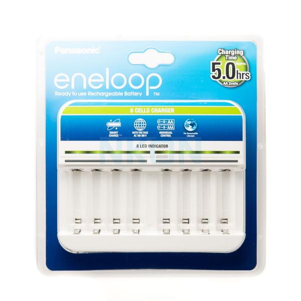 Chargeur de batterie Panasonic Eneloop BQ-CC63